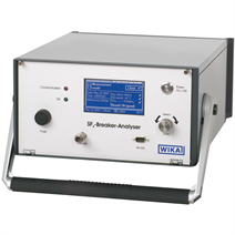 Analysis instrument for determining the quality of SF<sub>6</sub> gas
